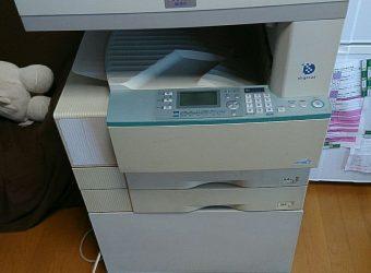 【愛知県名古屋市瑞穂区】オフィス用大型複合機の出張回収