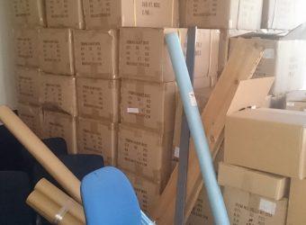 【【愛知県名古屋市東区】オフィスの在庫処分品の出張回収